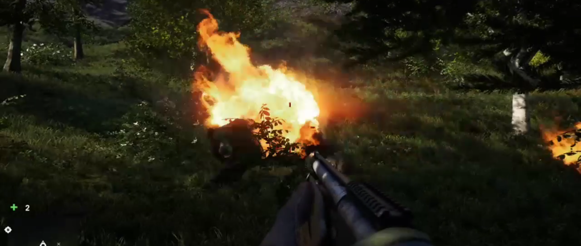 Far Cry 4 Fiery Bear Attack